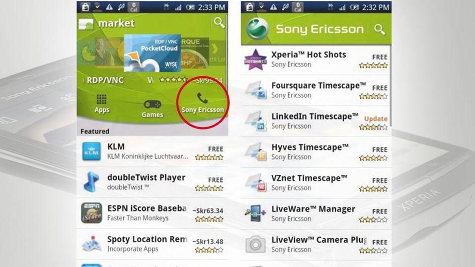 Egen app-kanal i Android Market