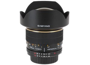 Samyang 14mm for Canon
