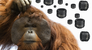 Plutselig kom et nytt Nikon-objektiv