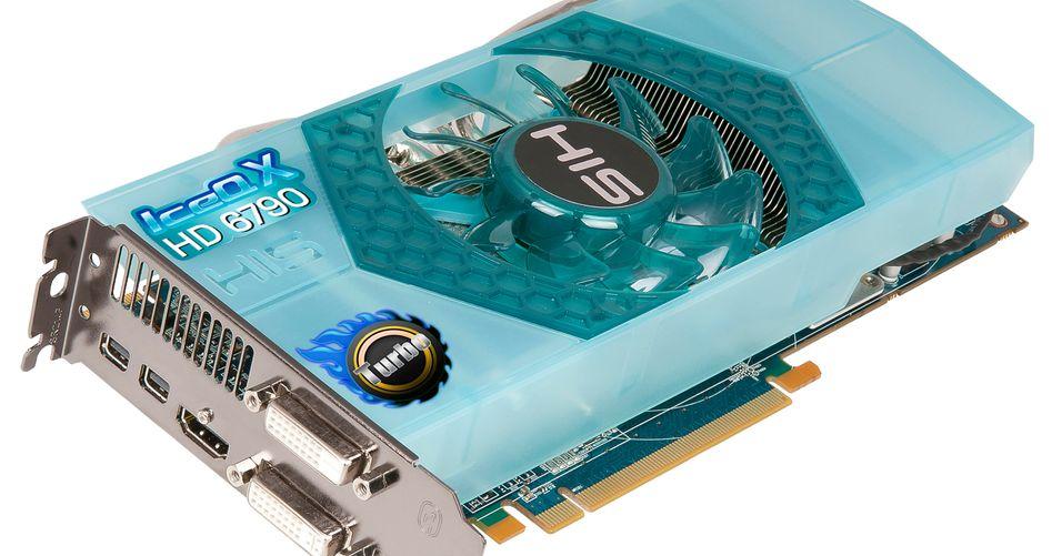 HIS overklokker Radeon HD 6790