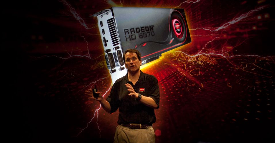 Rick Bergman, Senior Vice President & General Manager, AMD Products Group, presenterte i fjor høst Radeon HD 6000-serien