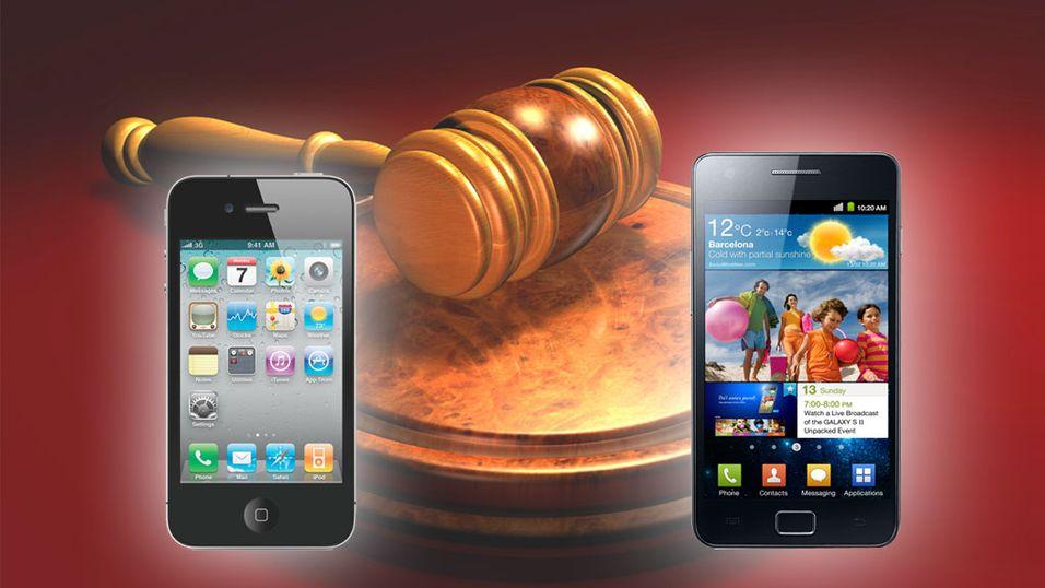 Apple saksøker Samsung for plagiat