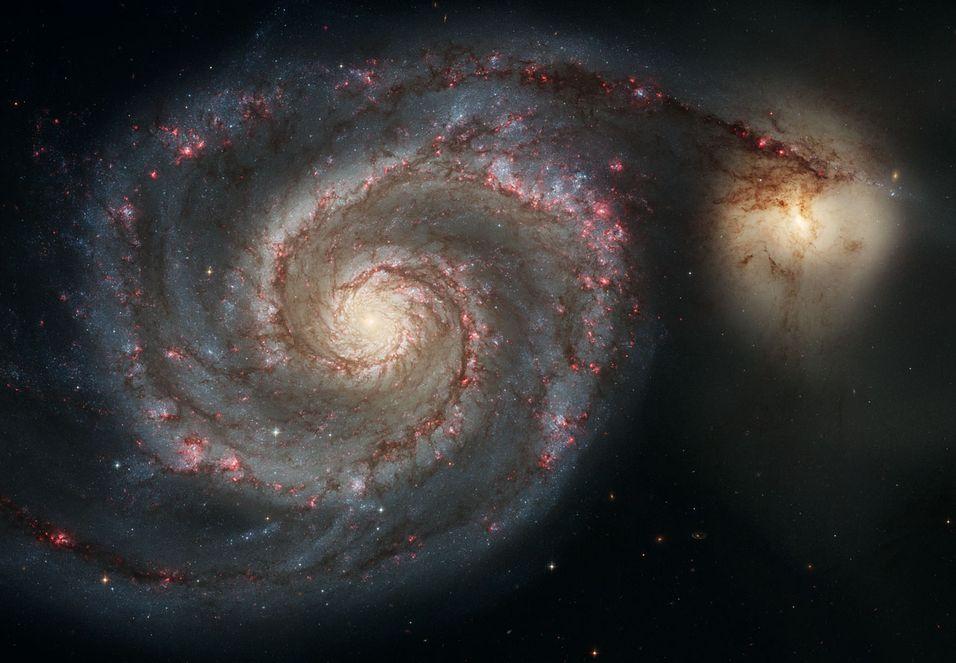 Se verdensrommet i 8K