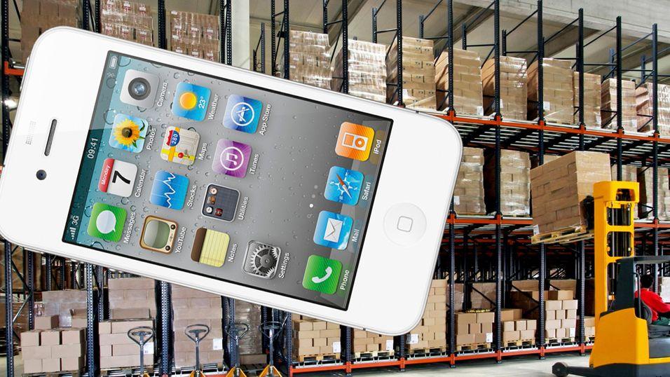 Nå er hvit iPhone 4 i norske butikker