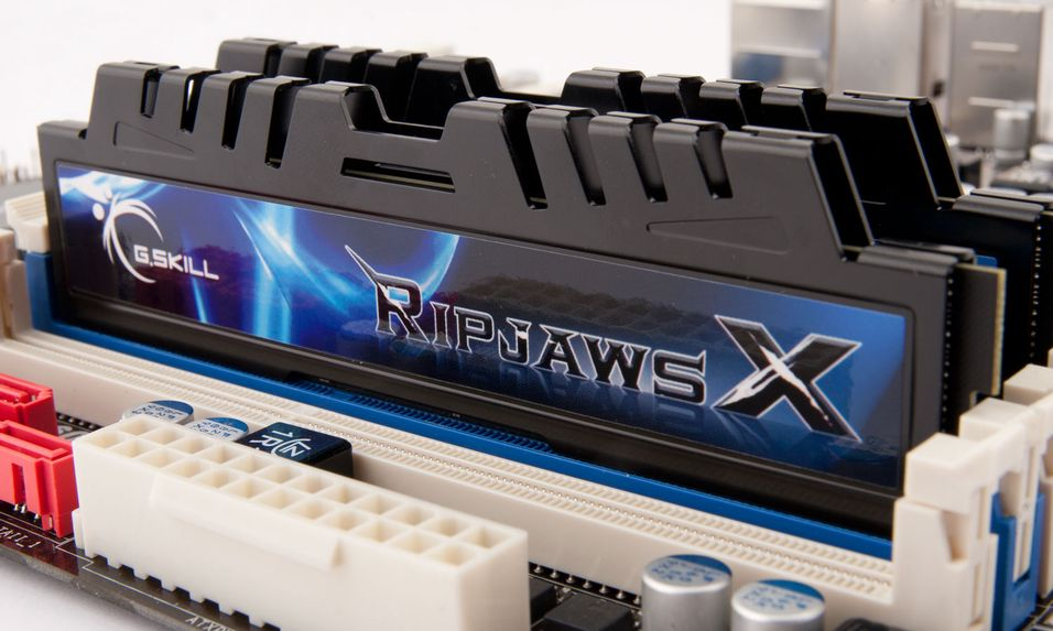 TEST: G.Skill RipjawsX DDR3-1600 2x4GB CL7
