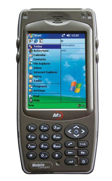 PDA-mobil for tøffe jobber