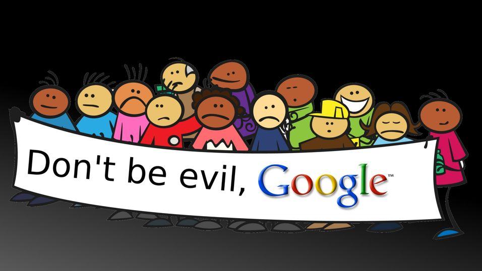 Gruppesaksøker Google for overvåking