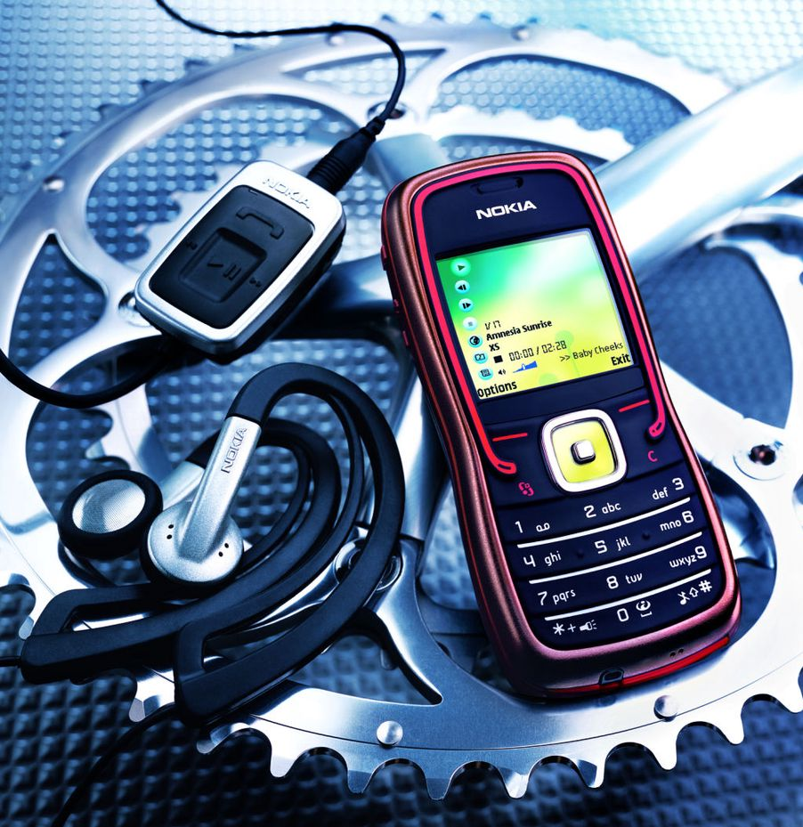 Tuner opp Nokia 5500