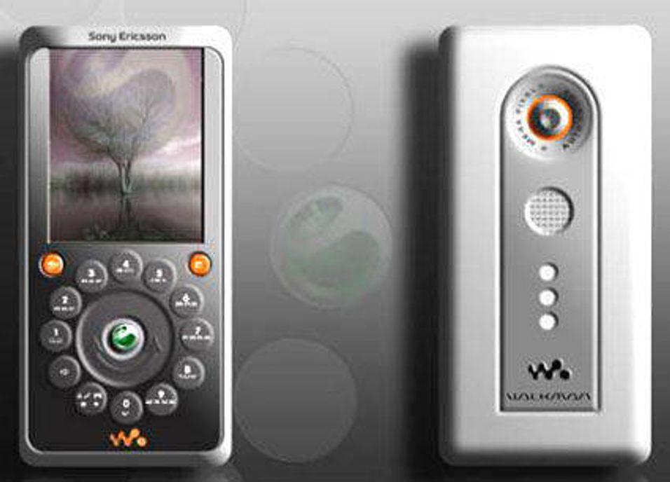 Sony Ericsson med tallskive