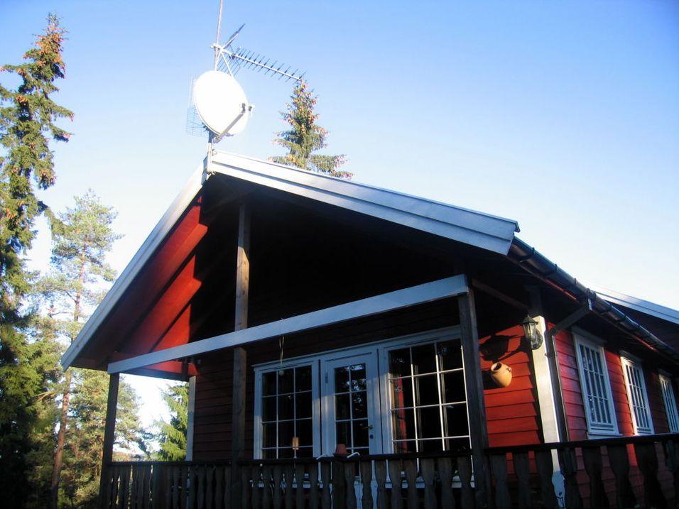 Digitalt bakkenett på hytta
