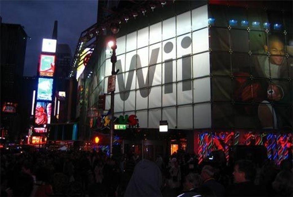 Amerikansk glede over Nintendo Wii