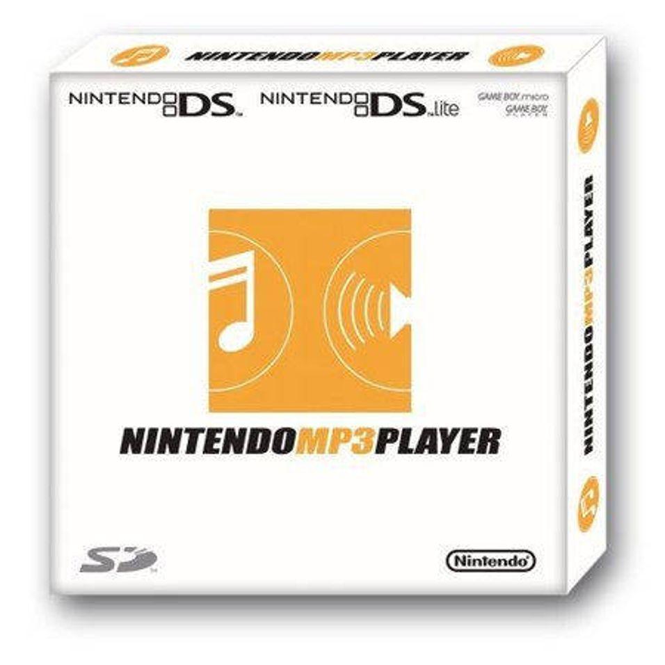 Nintendo med MP3-spiller