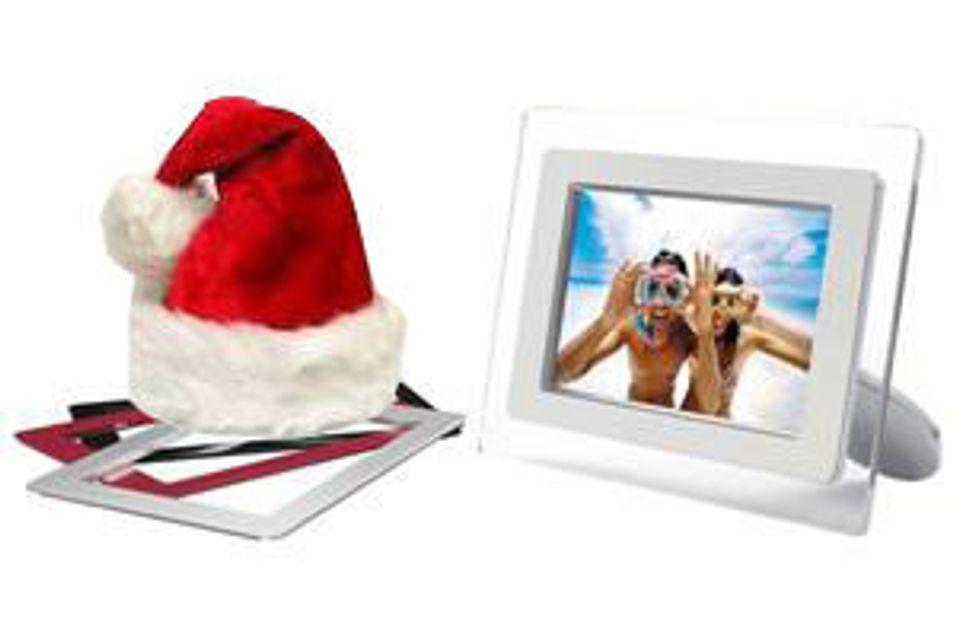 Vis flere bilder med digital fotoramme