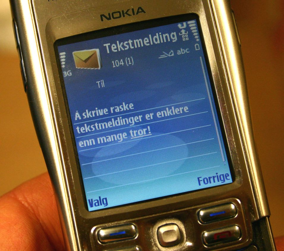 Dobling i antall SMS