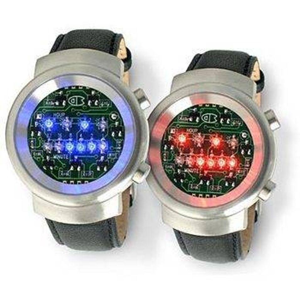 Uret med lysprikkene