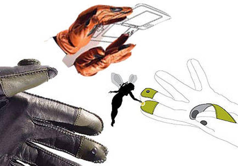 Her er dingse-hanskene