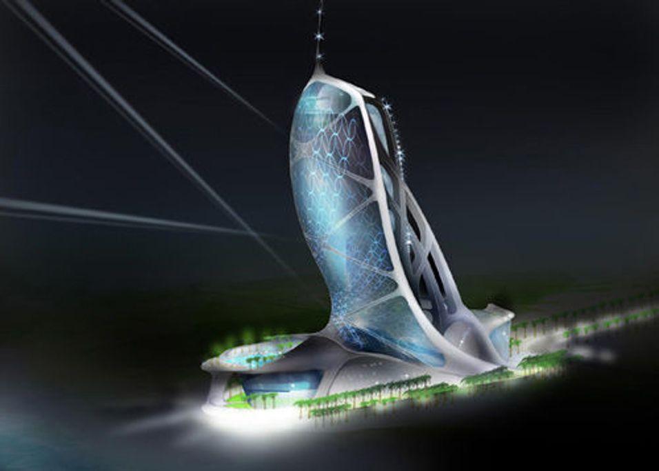 Verdens første luksushotell under vann