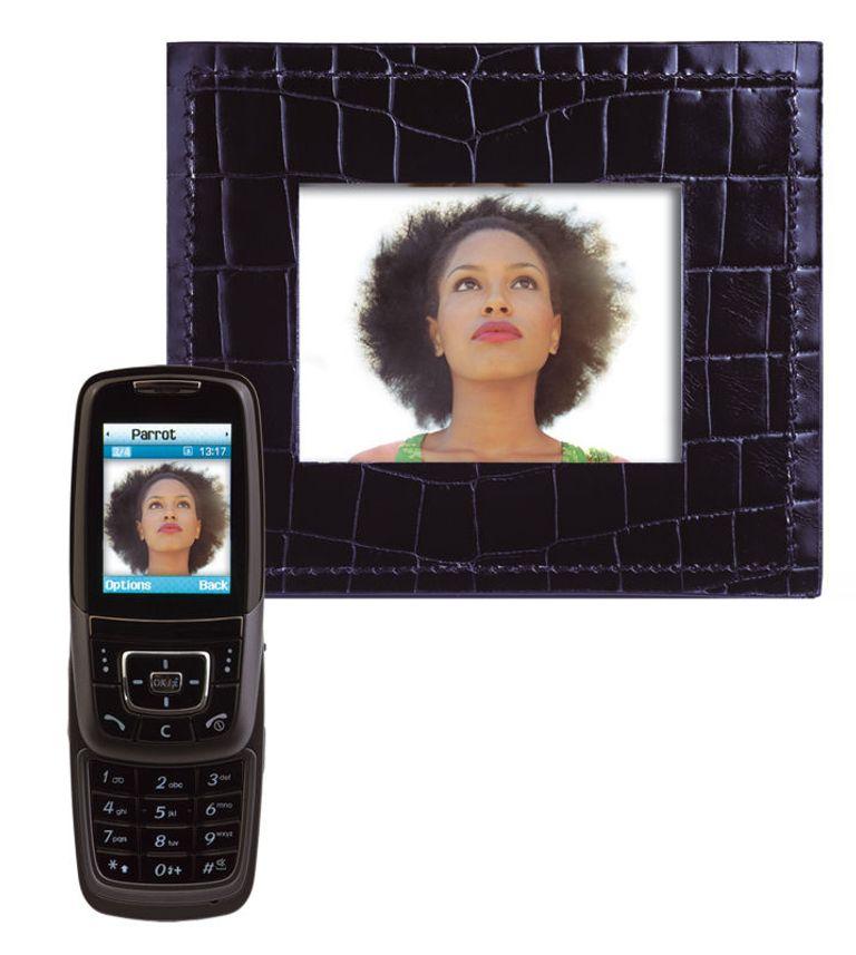 Fotoramme for mobilen