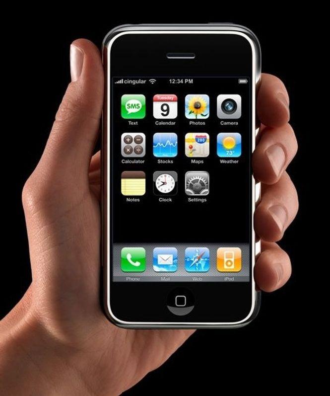 iPhone er lansert