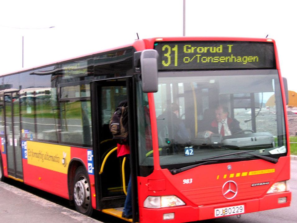 Mobilen blir bussbillett