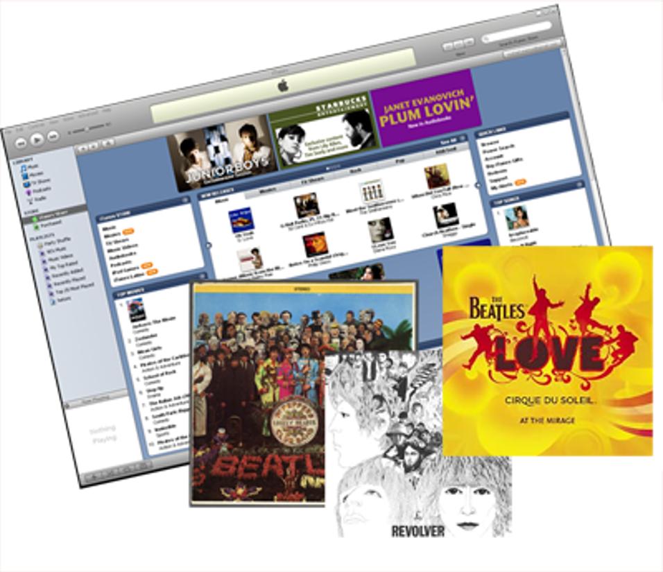Beatles snart på iTunes?
