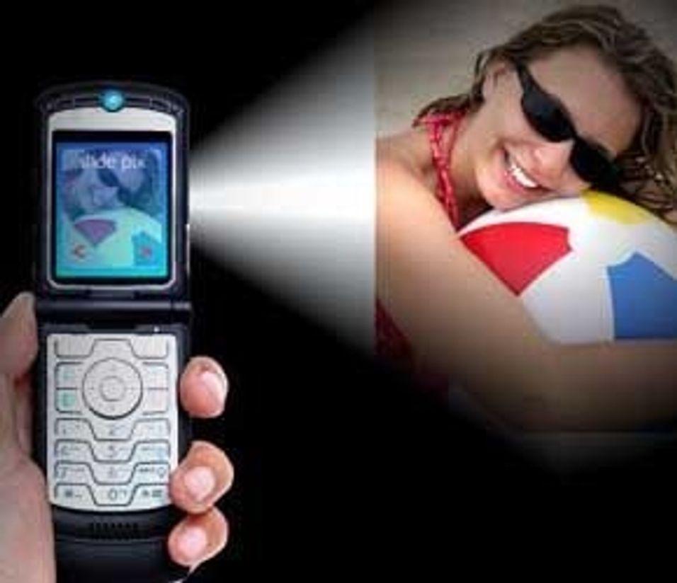 Kappløp om mobilprojektor