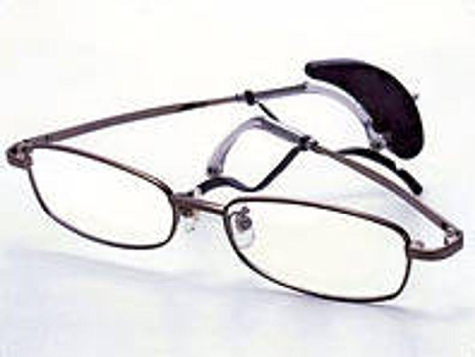 Brillene dine vekker deg