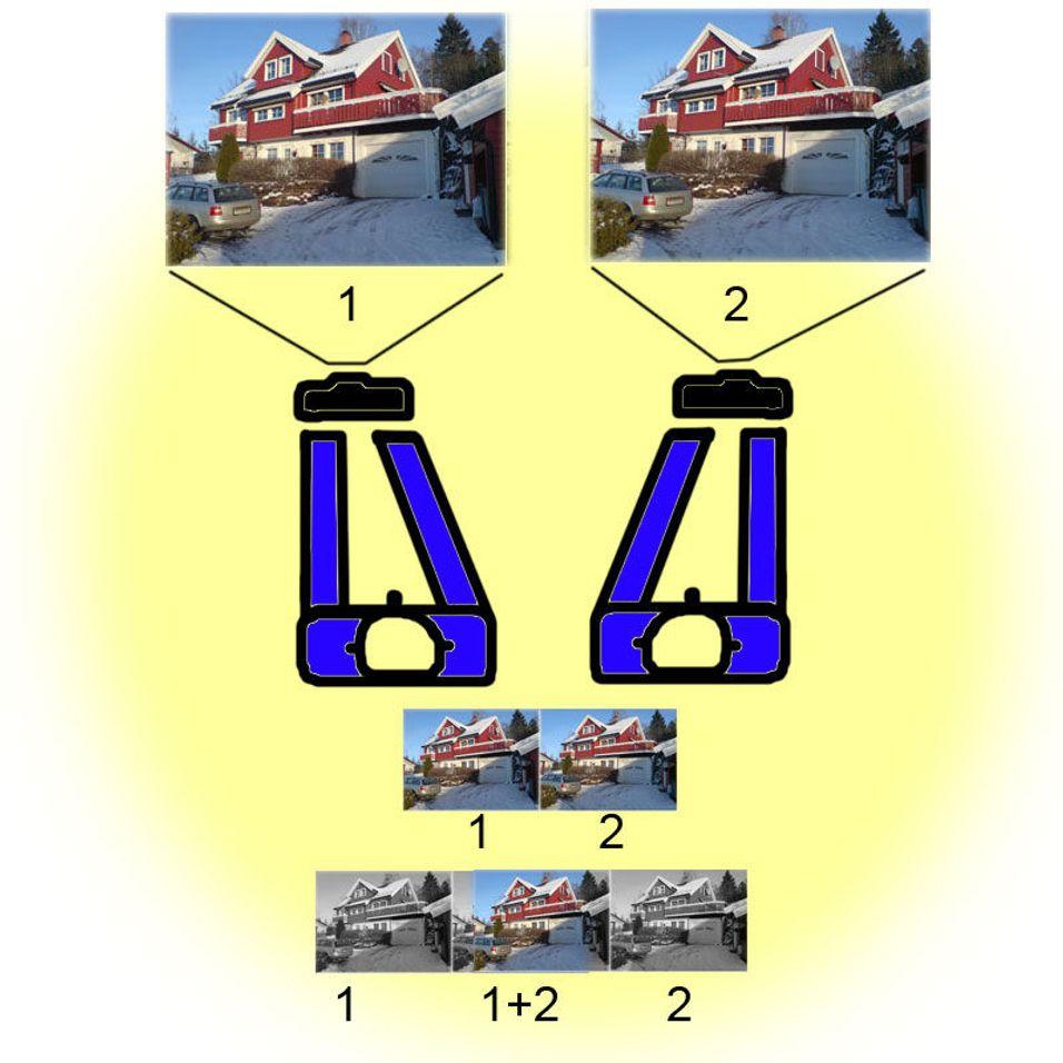 Slik tar du 3D-bilder med mobilen