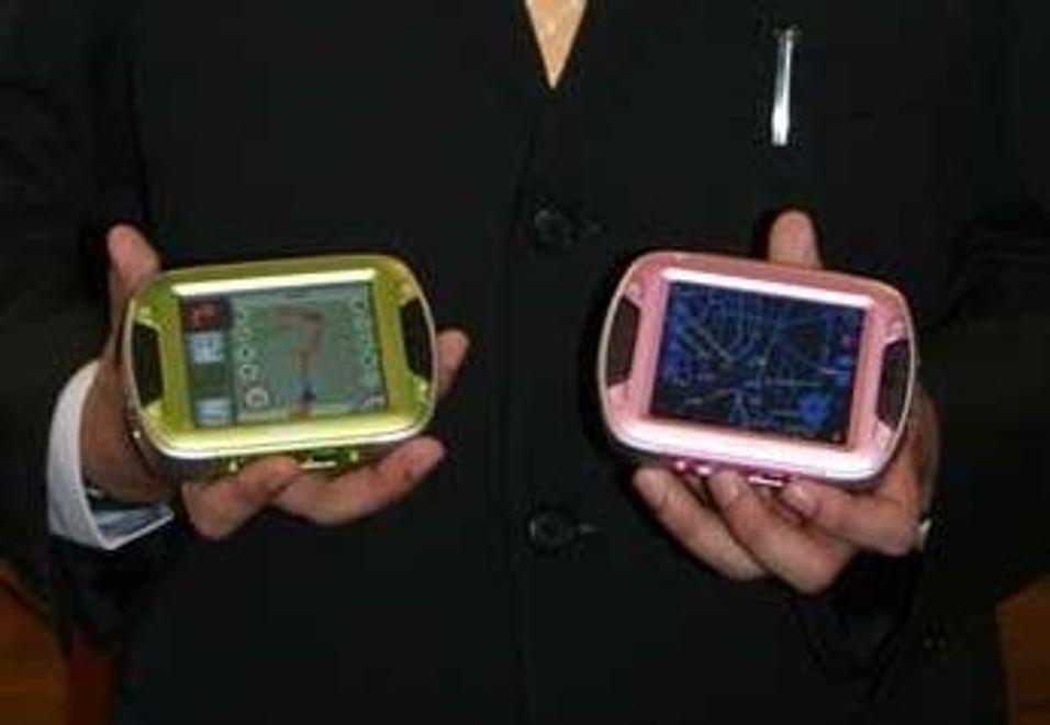 Hva med en rosa GPS?