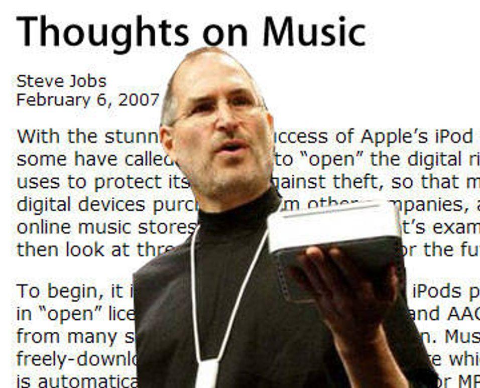 Apple mot kopibeskyttet musikk