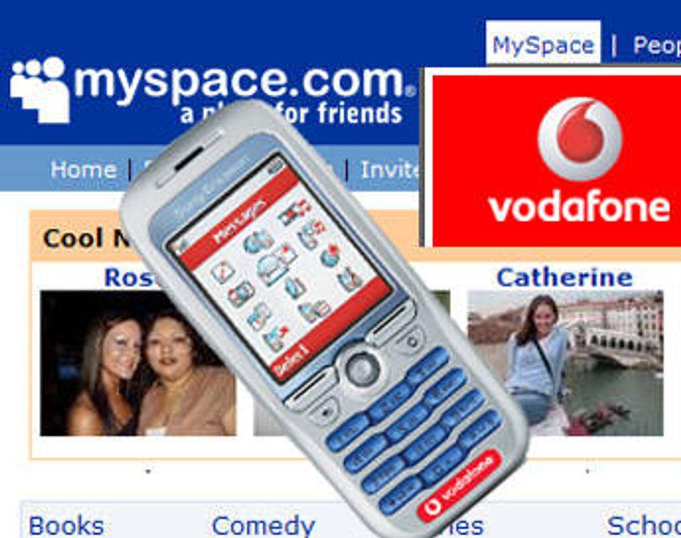 Myspace på mobilen