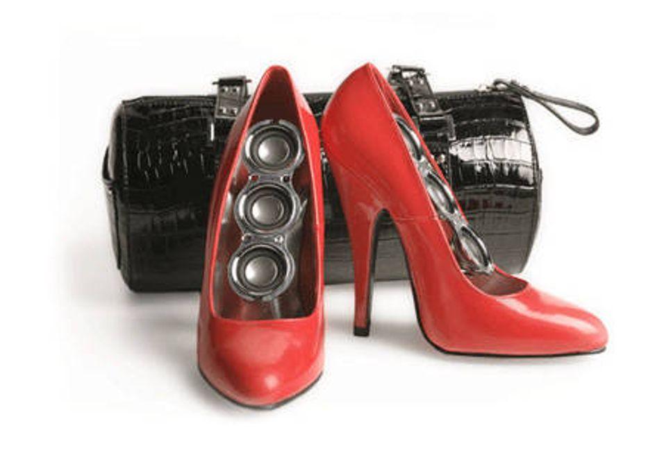 Høyttaler på høye hæler