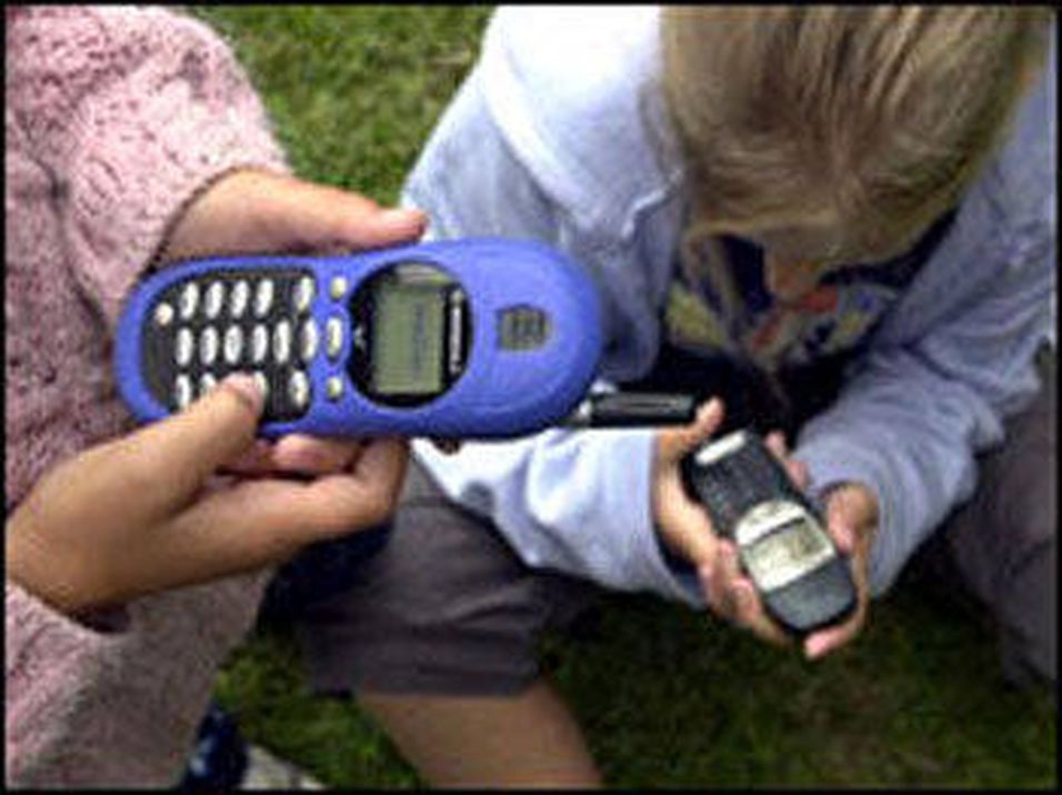 Mobilpress blant barn