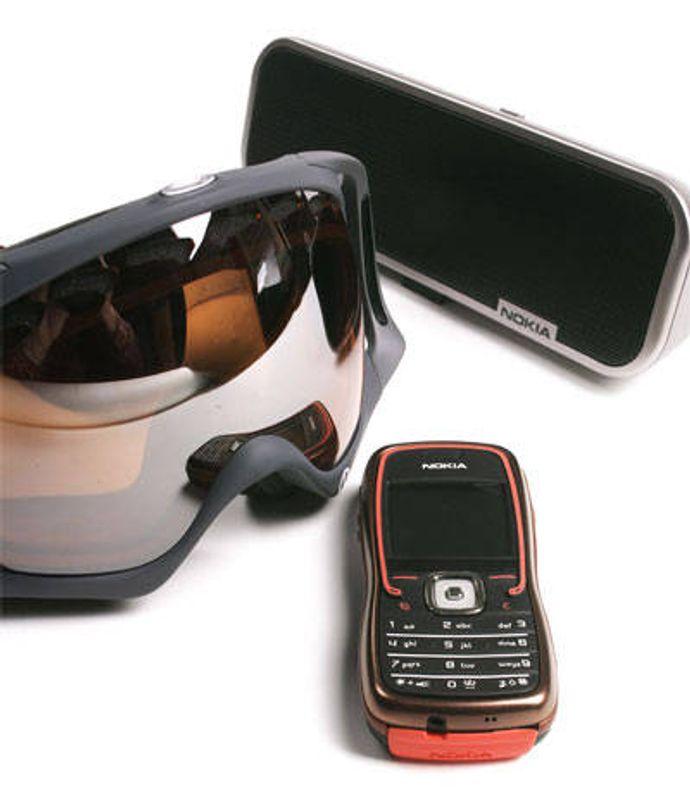 Nokia 5500 i Arctic Challenge-utgave