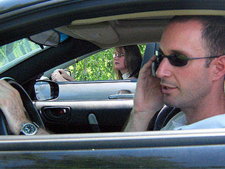 Kamera fanger mobilpratere