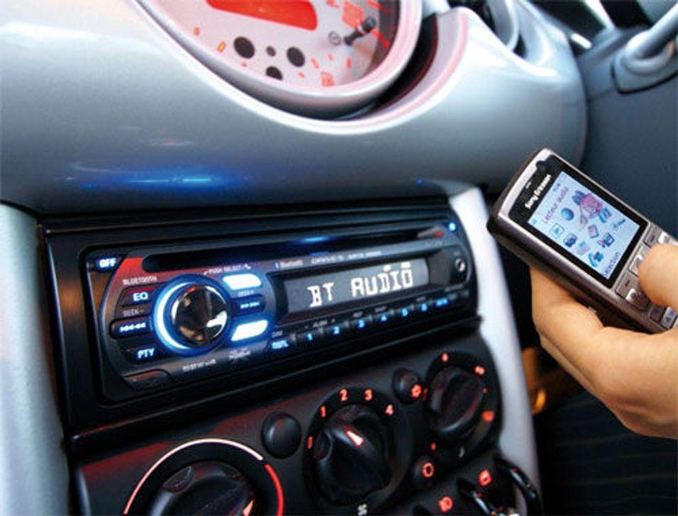 Sony bilstereo for mobilen