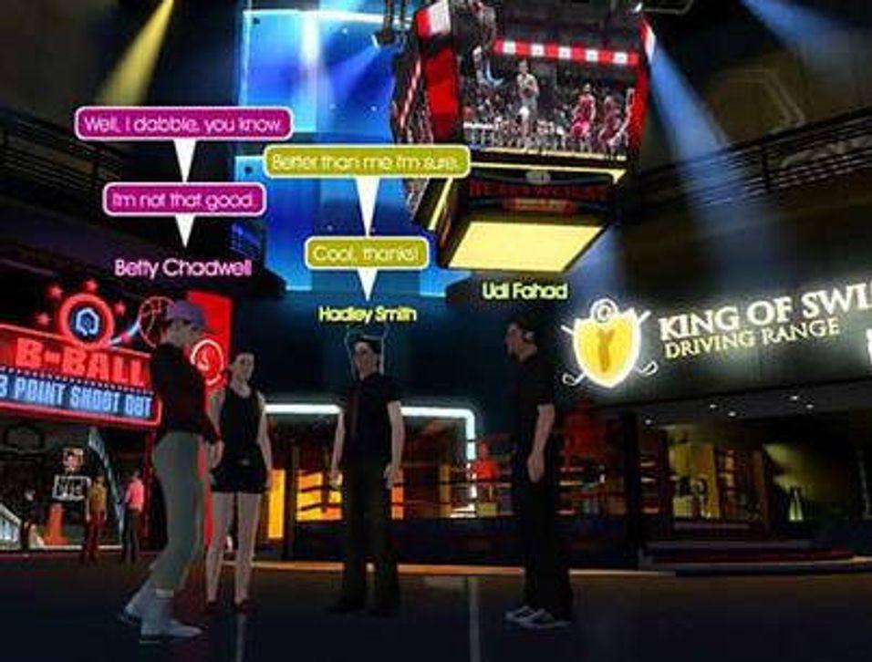 Virtuell verden for PS3