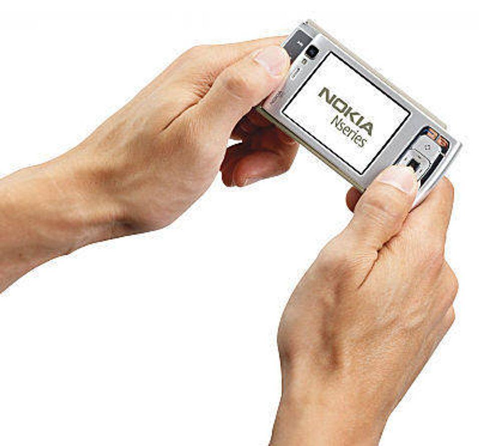 Nokia N95 i slutten av april
