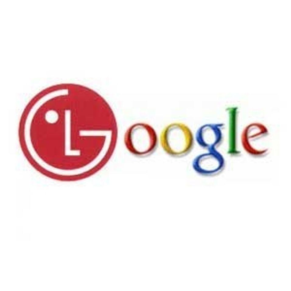 LG presenterer Google-mobil