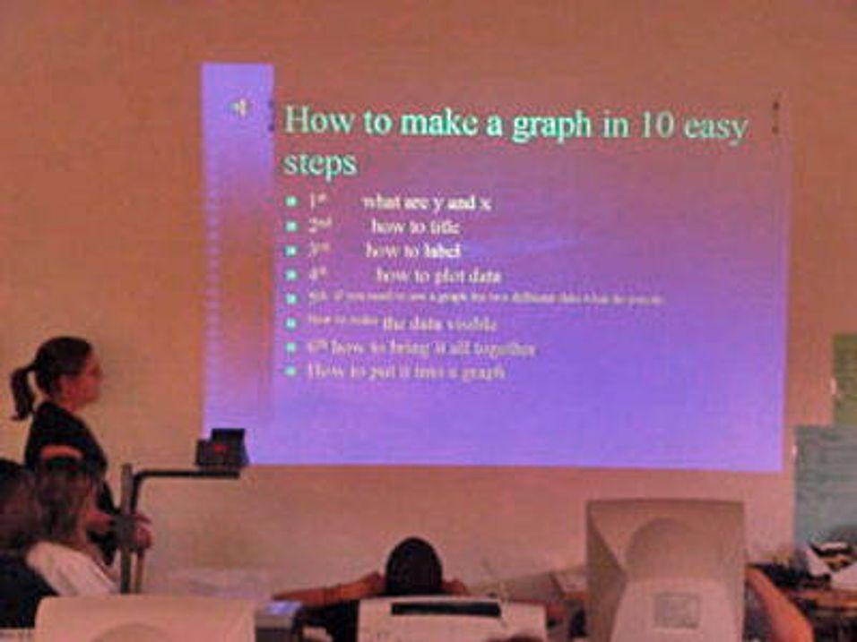 - Powerpoint gir dårlig forståelse