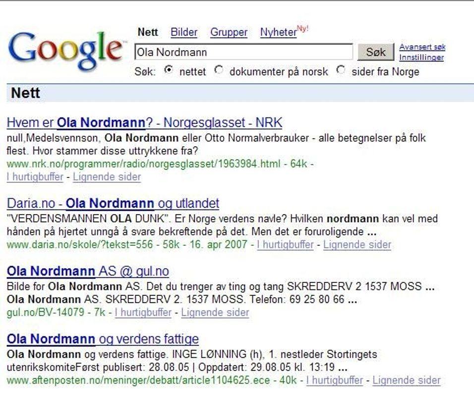 Når Google tar kontroll