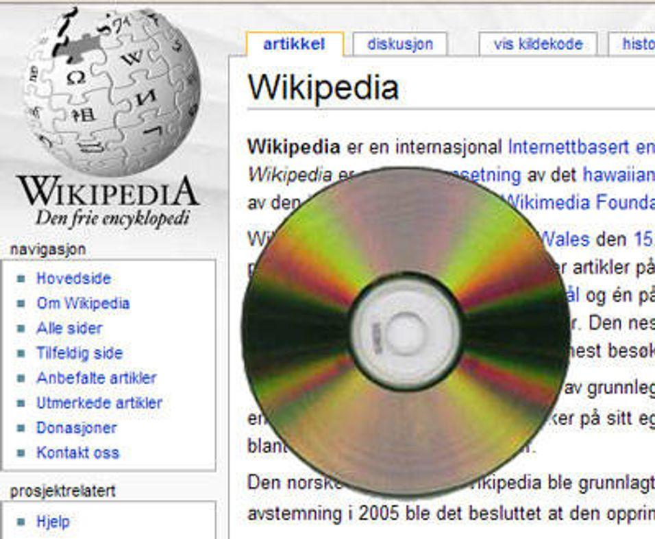 Wikipedia går offline
