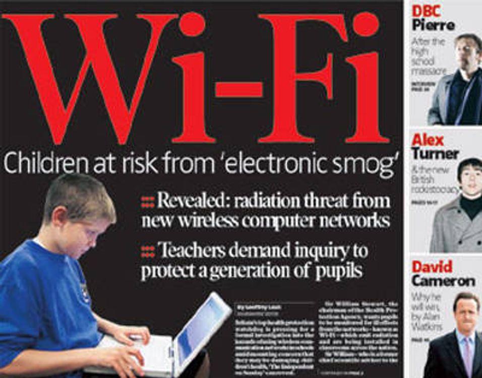 Bekymret for barn og Wi-Fi