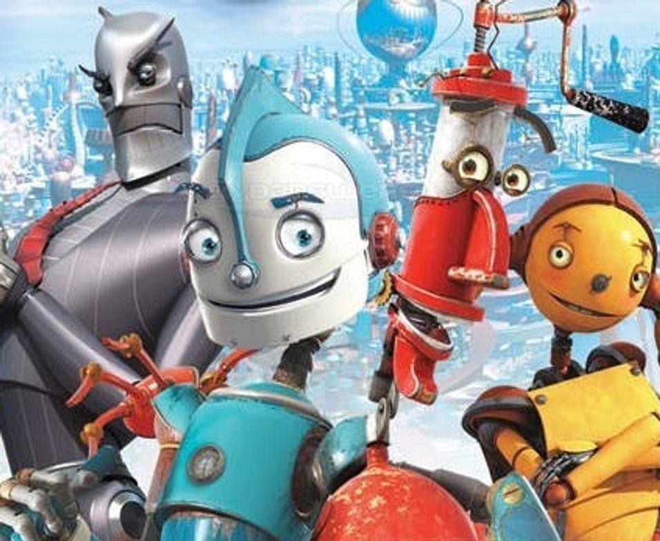 Bygger landsby for roboter