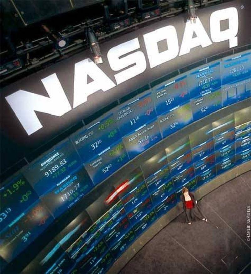 Netthandel sprengte den amerikanske børsen