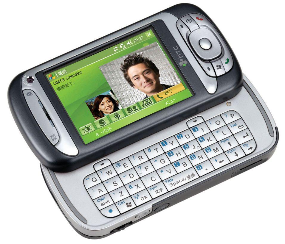 Med sekretæren i mobilen