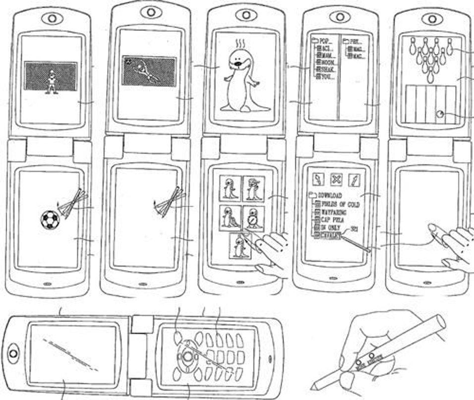 LG med dobbel touchscreen