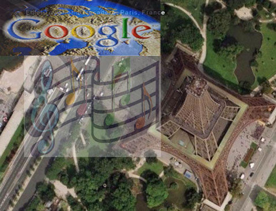 Google Earth med lyd