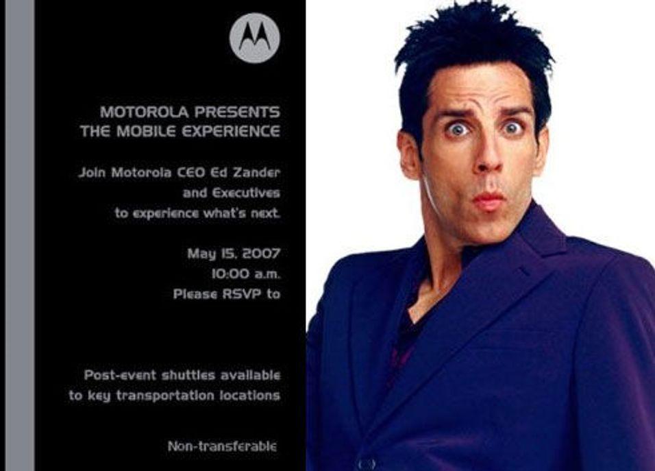 "Motorola slipper ""mediemonster"""