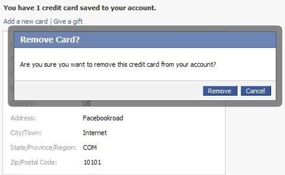 Fanget i Facebook